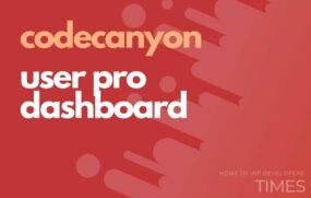 code user pro dashboard