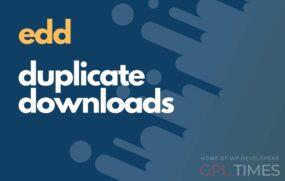 edd duplicate downloads 1