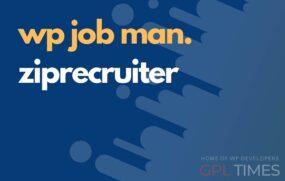 wpjob manager ziprecruiter