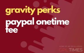 g perks paypal onetime fee