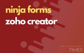 ninjaform zoho creator