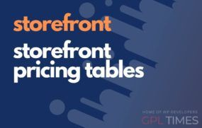 store front storefront pricing tables