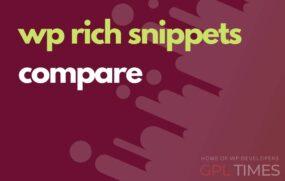 wprich snippets compare