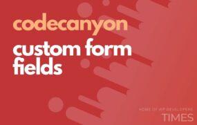 code custom form fields
