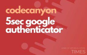 code 5sec google authenticator