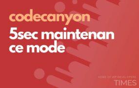 code 5sec maintenance mode