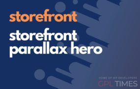 store front storefront parallax hero