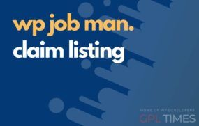 wpjob manager claim listing