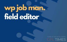 wpjob manager field editor