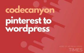 code pinterest to wordpress