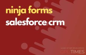 ninjaform salesforce crm
