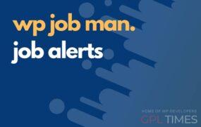 wpjob manager job alerts