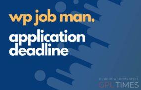 wpjob manager applications deadline