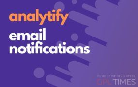 analyt email notifications
