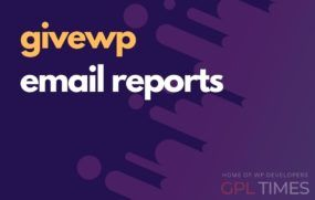 give wp email reports