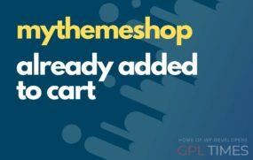 mtshop already added to cart