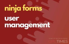 ninjaform user management