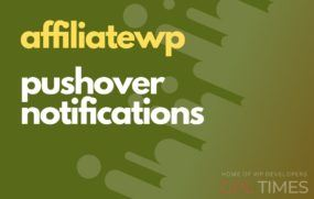afwp pushover notifications