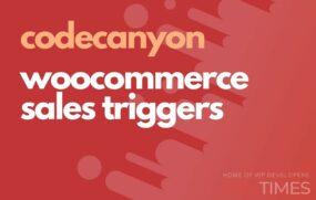 code woocommerce sales triggers
