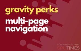 g perks multi page navigation