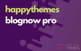 happy theme blognow pro