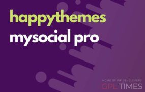 happy theme mysocial pro