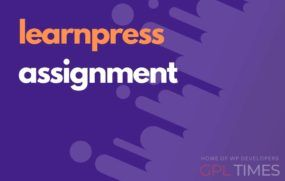 learn press assignment