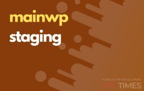 mainwp staging