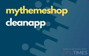 my themeshop cleanapp