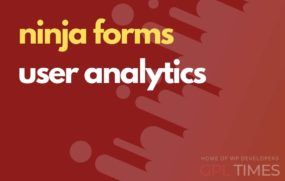 ninjaform user analytics