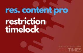 rc pro restriction timelock