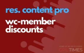 rc pro wc member discounts