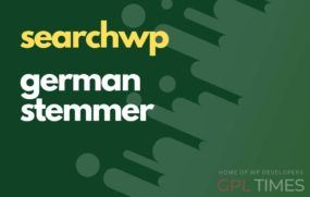 search wp german stemmer