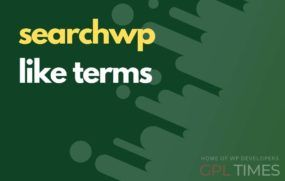 search wp like terms