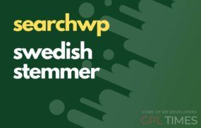 search wp swedish stemmer