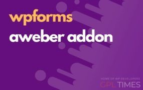 wp forms aweber addon