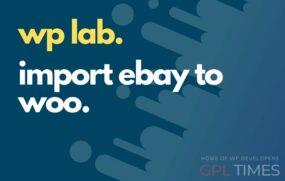 wp lab import ebay to woo