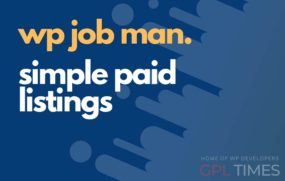wpjob manager simple paid listings