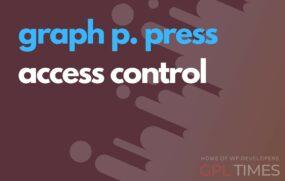 gppress access control