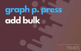 gppress add bulk
