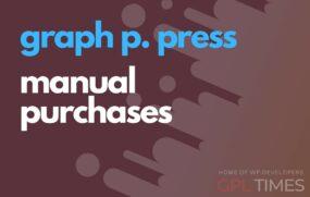 gppress manual purchases