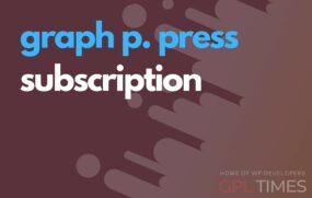 gppress subscriptions
