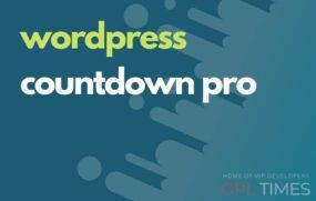 wpress countdown pro