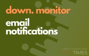 down monitor email notification