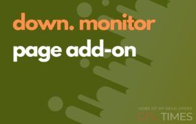 down monitor page addon