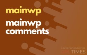 mainwp mainwp comments