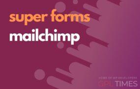 sforms mailchimp