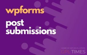 wp forms post submissions