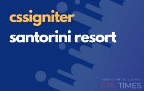 css igniter santorini resort