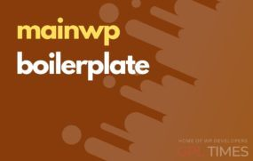 mainwp boilerplate